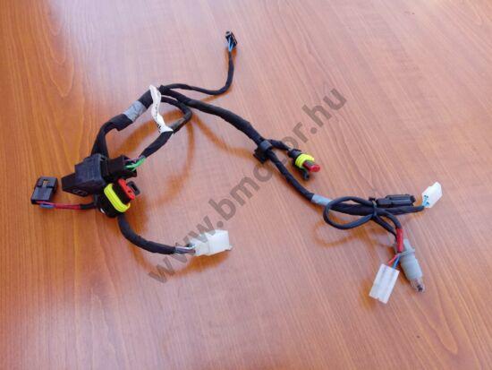 Aprilia Tuono 125 Első lámpa vezetékelés és relé