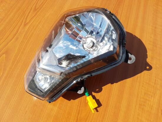 KTM Duke 125 Első lámpa